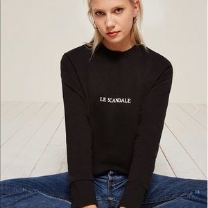 Reformation Tops - Reformation Cullen Sweatshirt Medium M Le Scandale